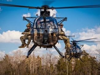 MH-6 Little Bird USASOAC Twitter tweet 20200128