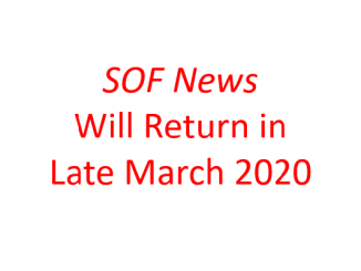 SOF News will return