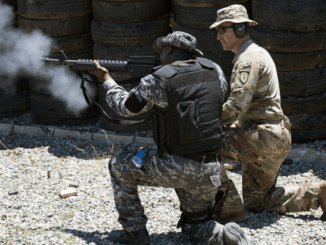 54th SFAB trains up soldier during Tradewinds 2019