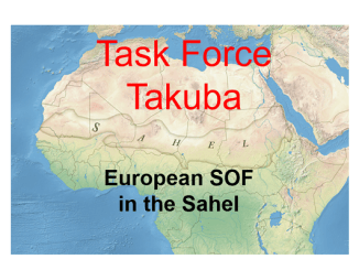 Task Force Takuba in Sahel