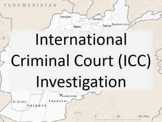 International Criminal Court Investigation ICC