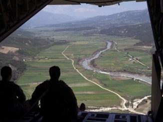 View from MC-130J Commando II