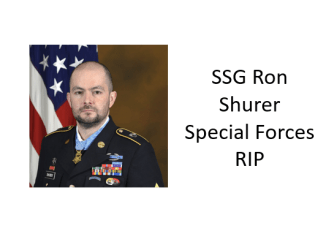 SSG Ron Shurer RIP Special Forces