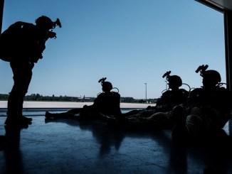 US and Latvian SOF HALO Jump