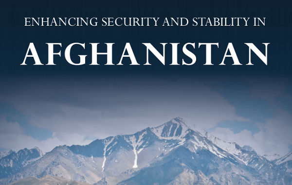 Report - Enhancing Security and Stability in Afghanistan June 2020