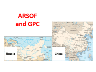 ARSOF and GPC