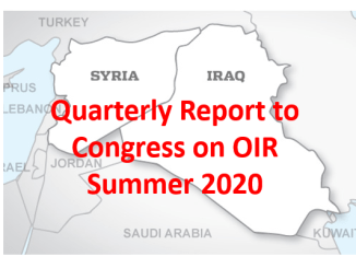 Quarterly Report to Congress OIR Summer 2020