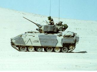M-3 Bradley Fighting Vehicle Desert Storm