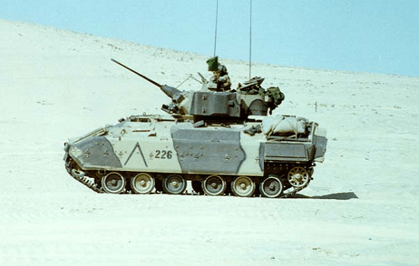 M-3 Bradley Fighting Vehicle Desert Storm