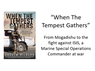 When The Tempest Gathers by Andrew Milburn