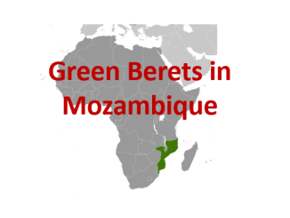 Green Berets in Mozambique