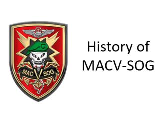 History of MACV-SOG