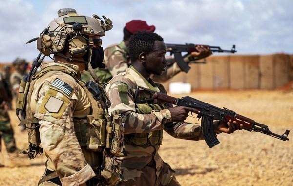 Danab Brigade Weapons Training