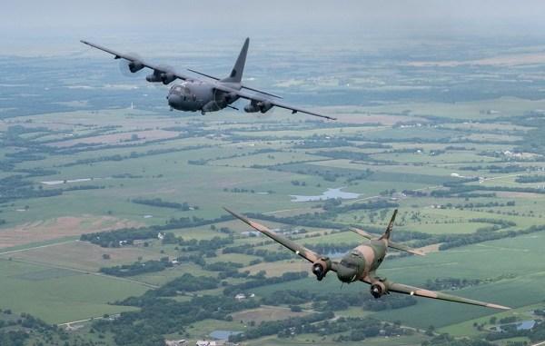 AC-47 and AC-130J Legacy Flight
