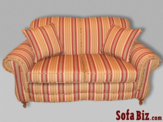 Traditional Tight-Back Sofa