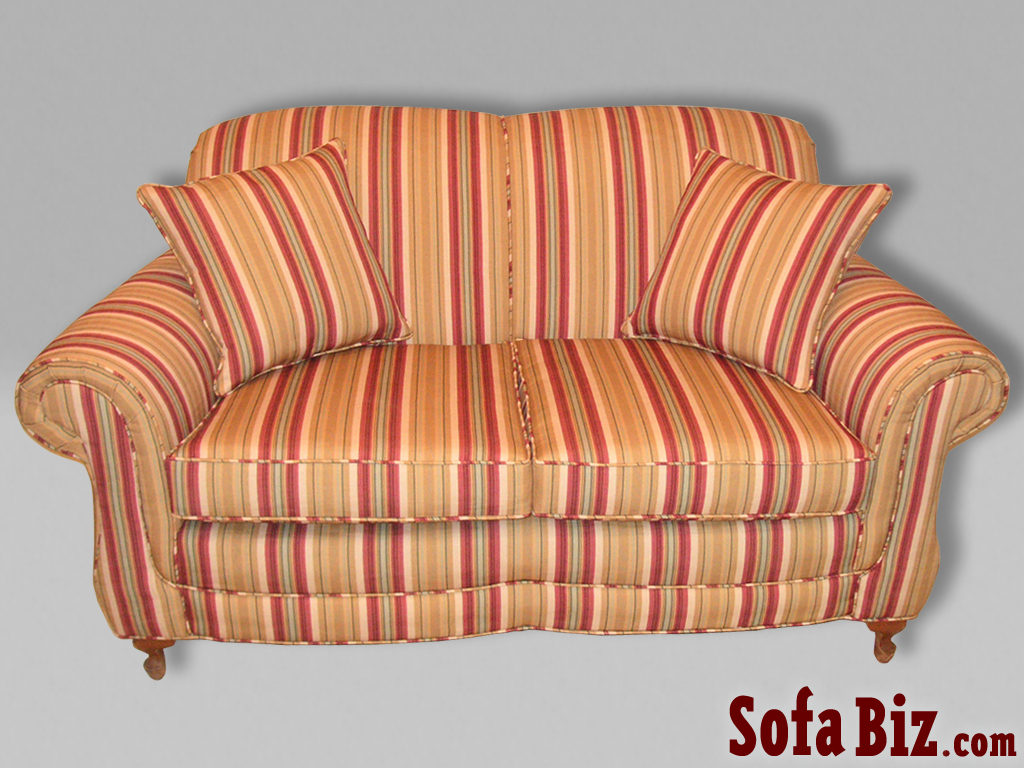 Exceptional Traditional Tight Back Sofa