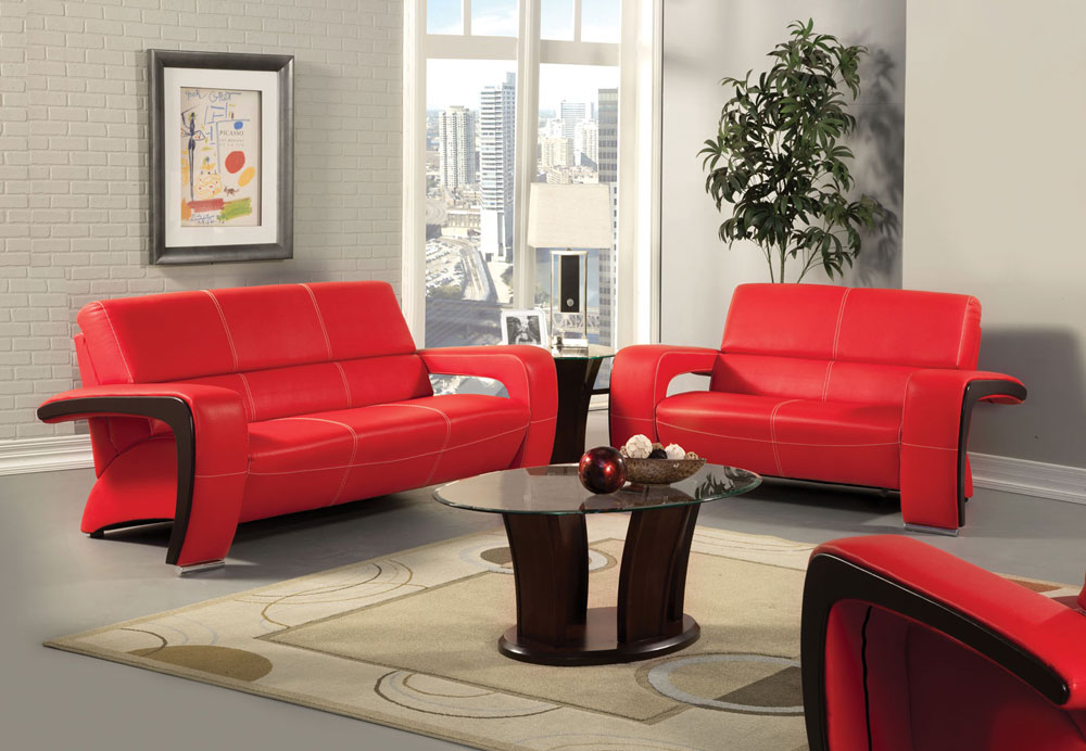 Find a great deal on light & dark red living room sofa & loveseat collections in various styles & materials. Red And Black Corner Sofa | Couch & Sofa Ideas Interior ...