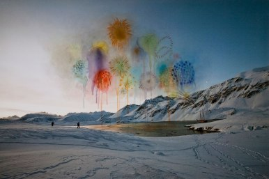 Explosions, 2011 by Sarah Anne Johnson, Courtesy of Stephen Bulger Gallery, Toronto and Julie Saul Gallery, New York