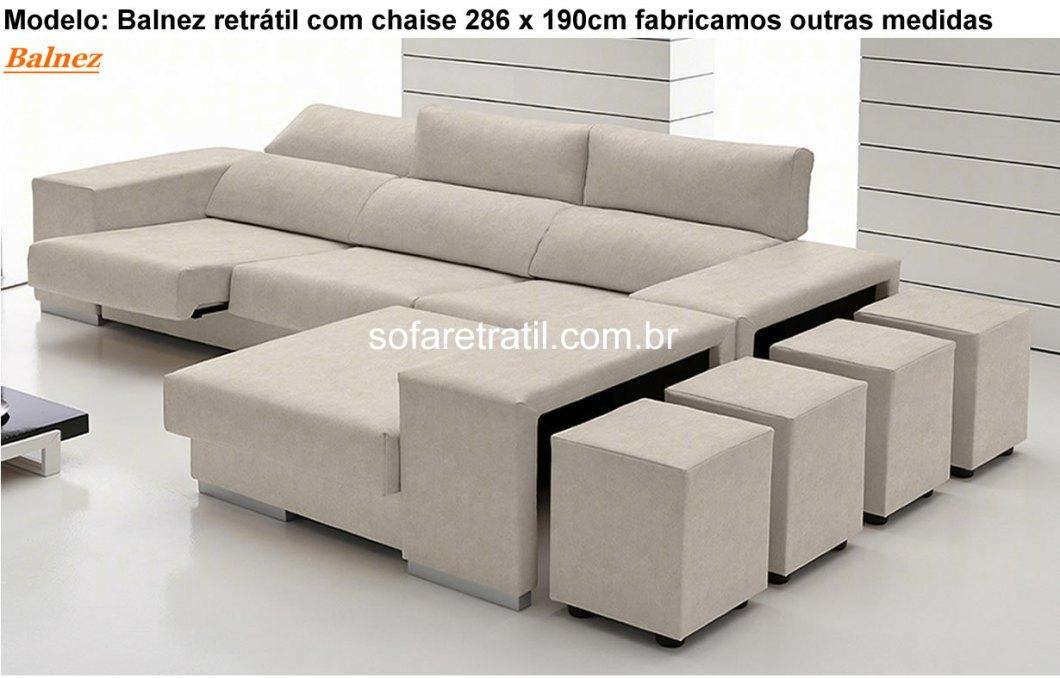 Sofa Com Chaise Retratil Sp Memsaheb Net