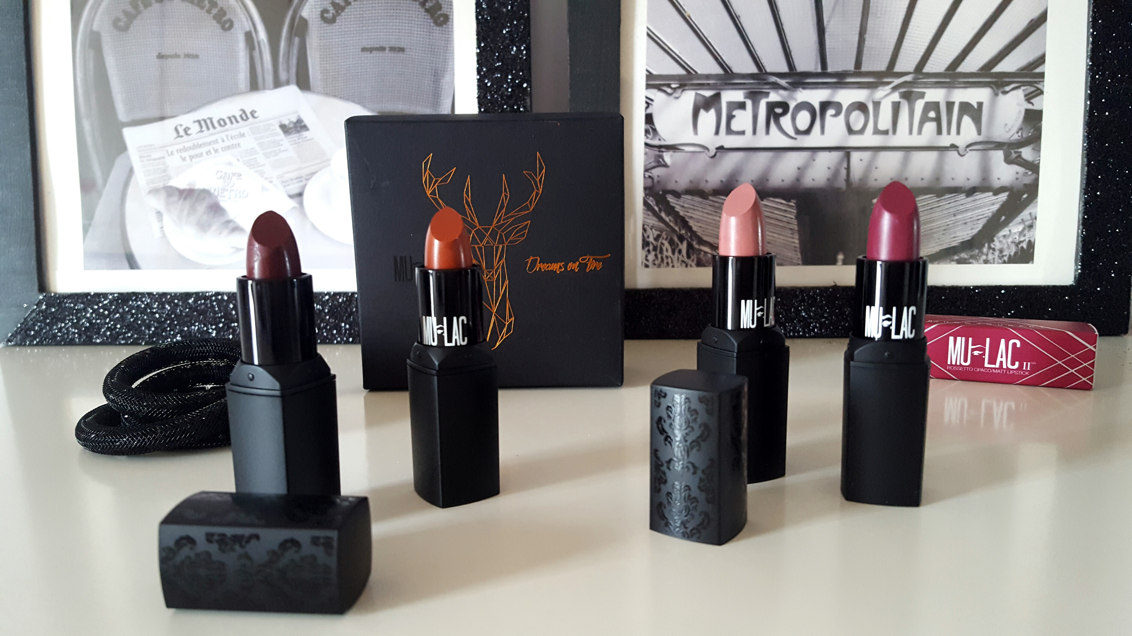 Haul rossetti Mulac - Ordinary Babe, Satisfaction, Fire e Dreams On