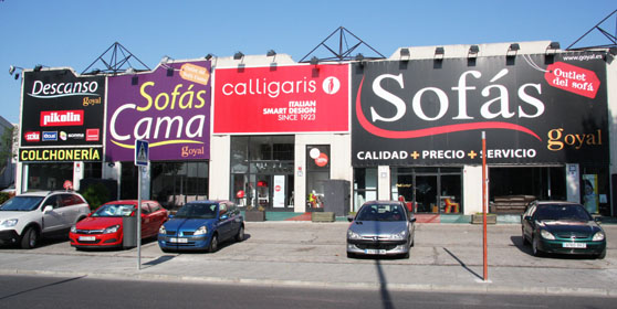 Sofas madrid outlet for Sofas baratos madrid outlet
