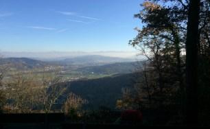 Nochmals Alpen in der Ferne