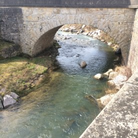 Brücke über Bach