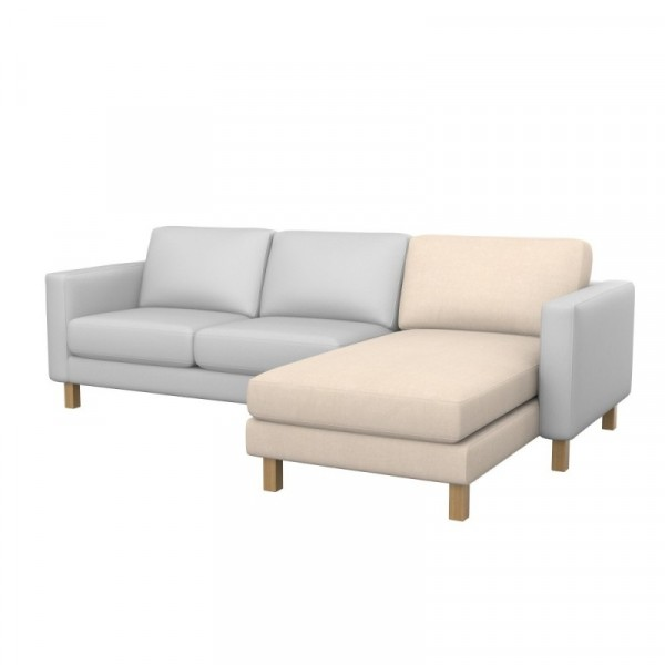 Karlstad Hoes Chaise Longue Aanbouw