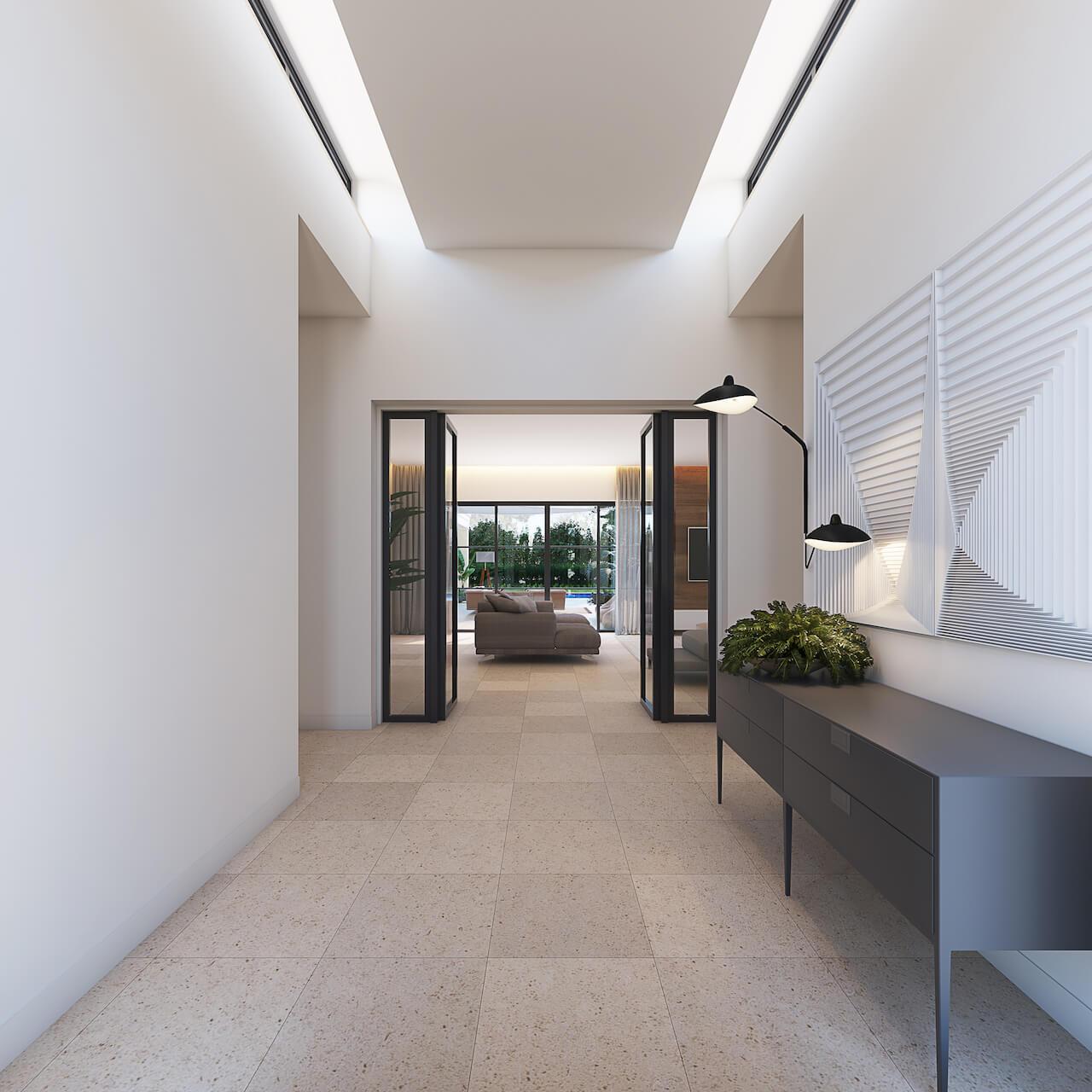 Casa MG 3D - Entrada | MG House 3D - Lobby