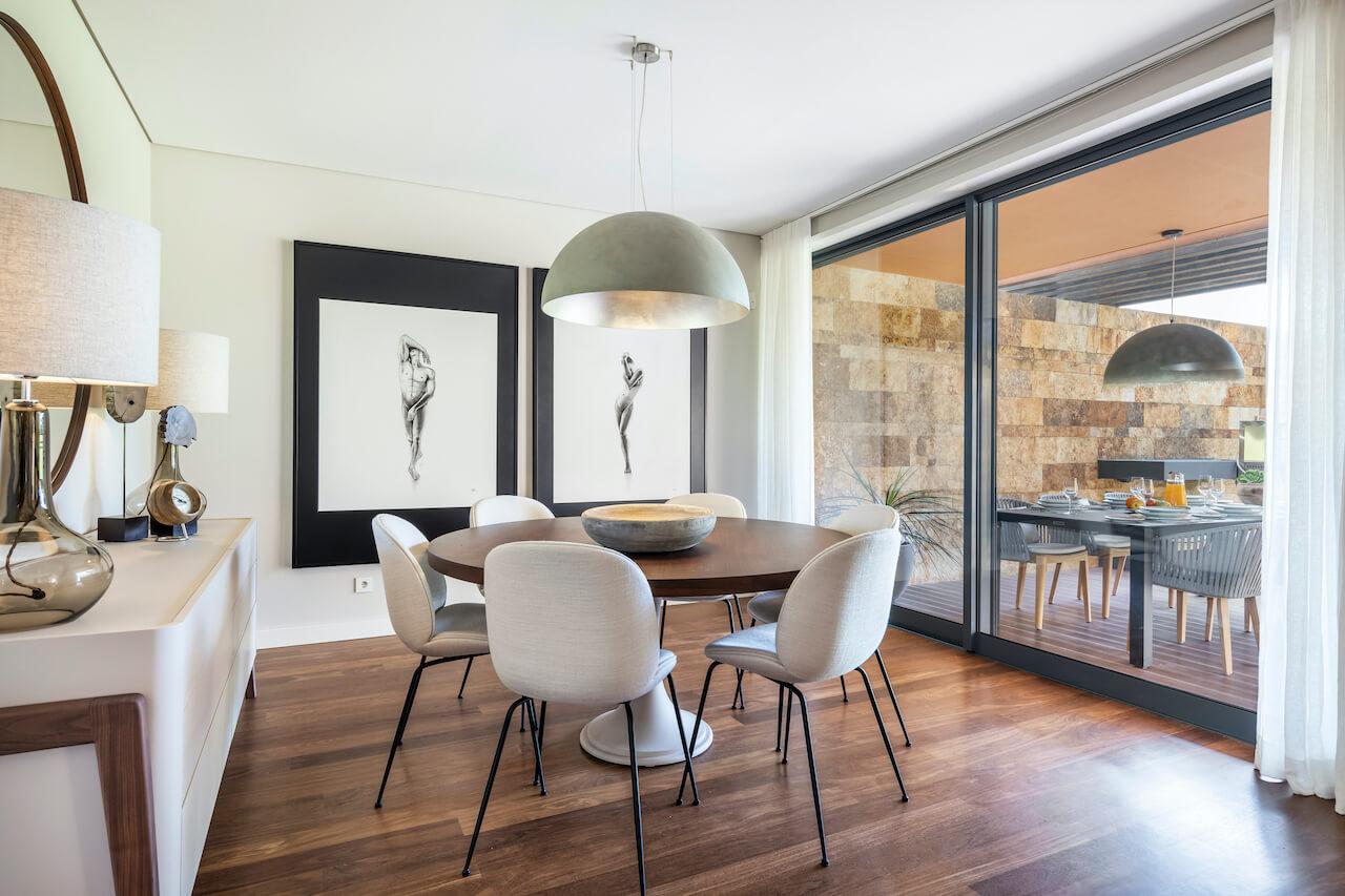 Casa CV - Sala de Jantar   CV House - Dining Room
