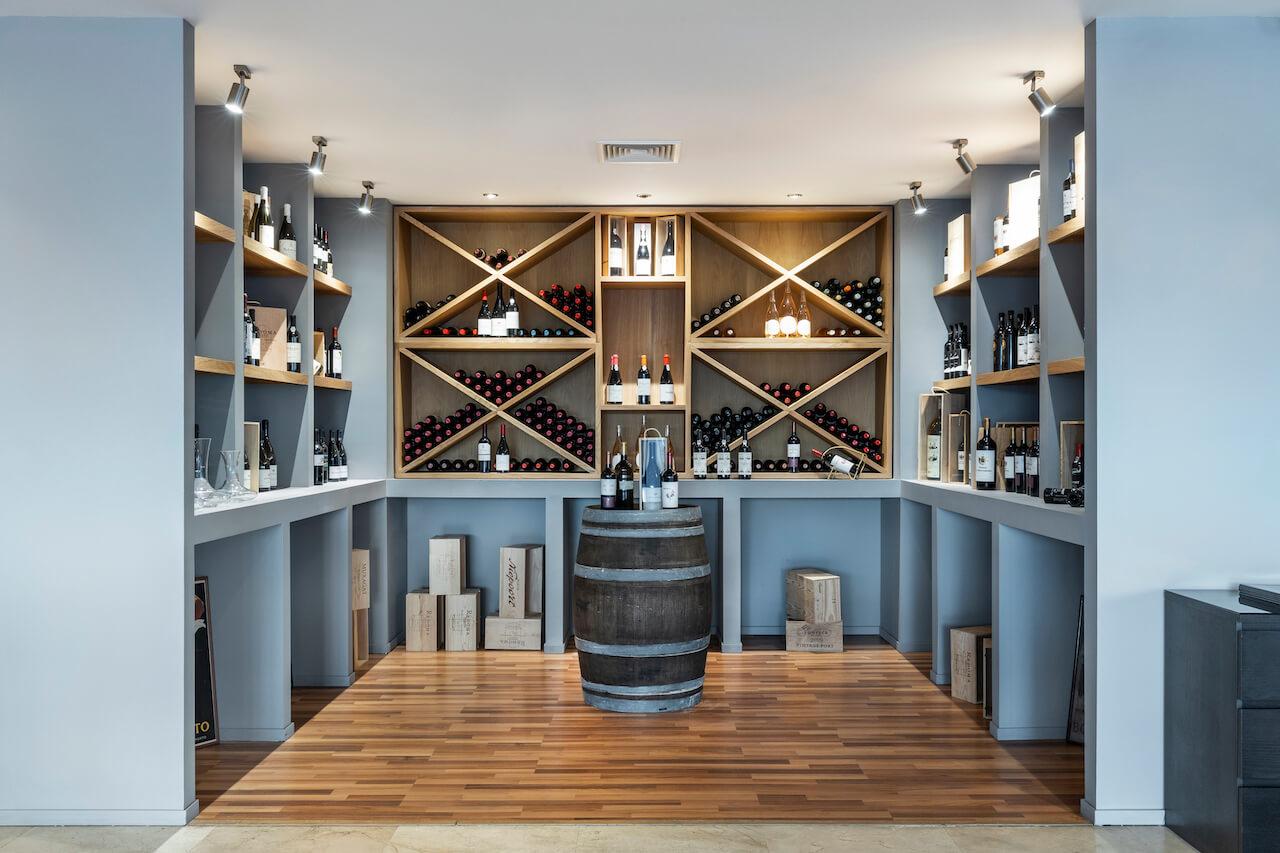 Restaurante IL Vero - Garrafeira   IL Vero Restaurant - Wine Cellar