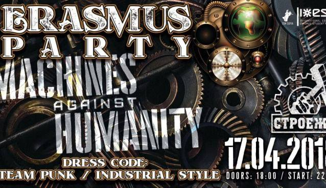 Steampunk Erasmus Party | Stroeja | April 17