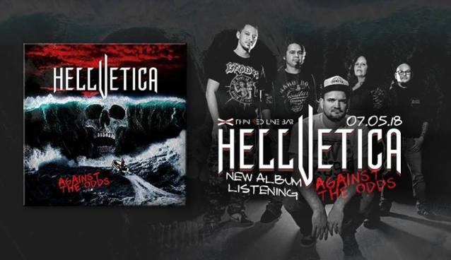 Hellvetica new album listening |Thin Red Line Bar | May 7
