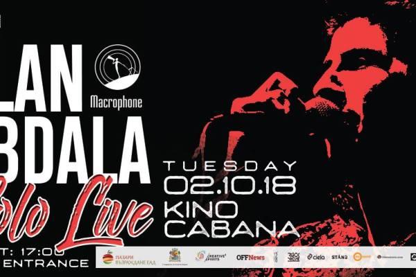 Alan Abdala Live | Kino Cabana | October 2