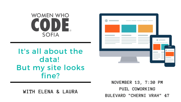 It's all about the data! But my site looks fine? | Puzl coworking | November 13