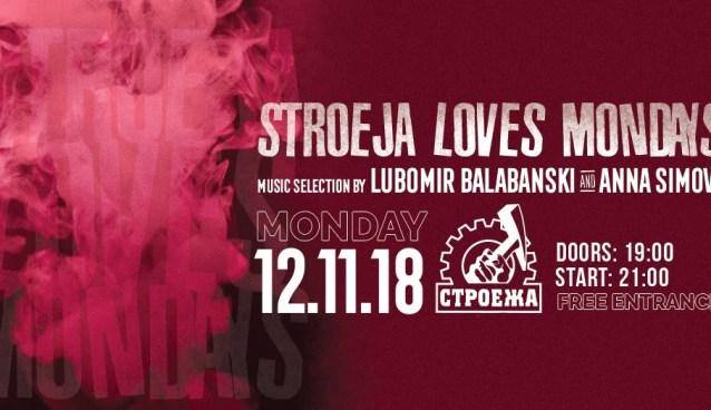 Stroeja loves Mondays | Stroeja | November 12