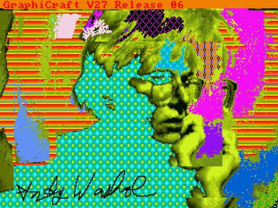 Se encuentran Obras de arte digitales de Warhol en unos disquetes de 1985