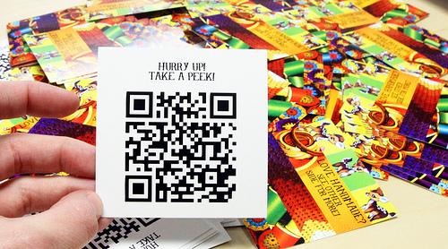 Incluye el código QR en tus tarjetas de visita