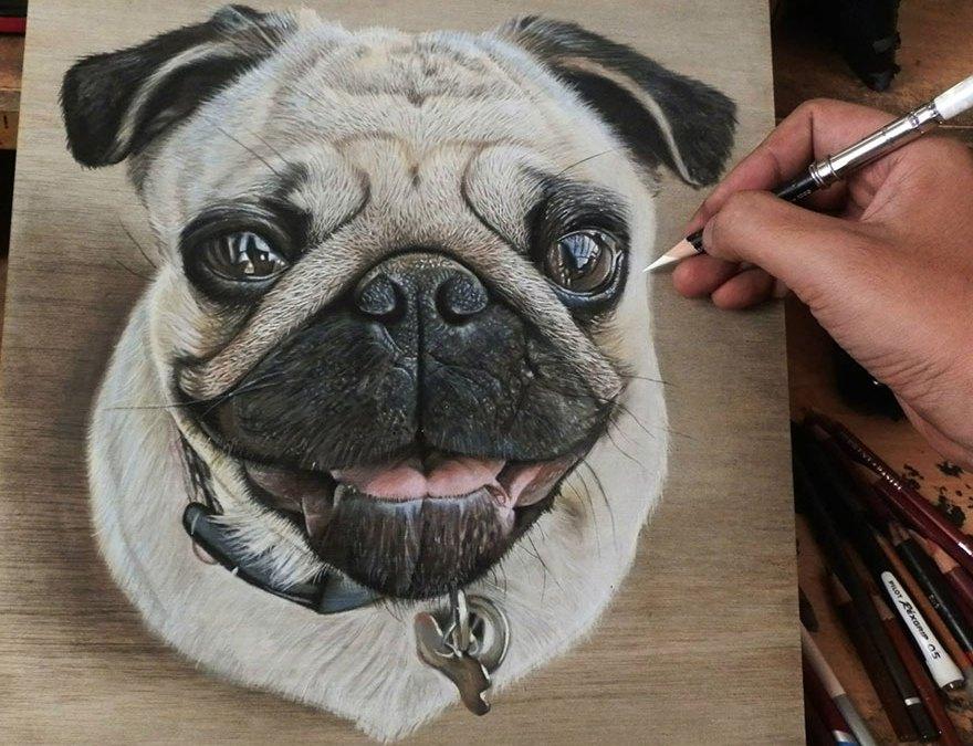 Ivan Hoo, un artista autodidacta que hace maravillas