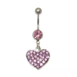 Κοσμήματα piercing αφαλού,καρδιά
