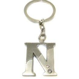μπρελόκ ,γράμμα Ν,χειροποίητα μπρελόκ,κλειδιά