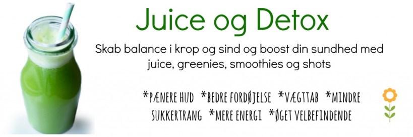 Juice og detox