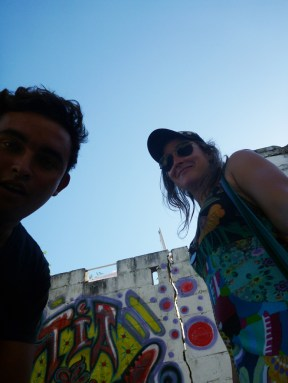 me and angelo along the way