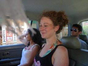 roadtrip, 2 german girls and jonathan
