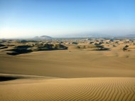 The desert dunes!