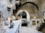 A kitchen in the monastery of Santa Catalina
