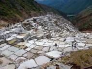 Salineras - lot's of salt mines - used since the inkas!