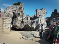 """""""Temple of the Condor,"""" supposed to be a condor in flight... Don't just look at the rocks on the floor of the enclosure, the rocks of the walls represent the bird's wings."""