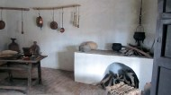 What it looked like in the old houses of the Santa Fesinos
