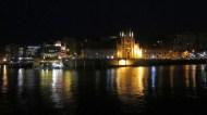 St Julians at night